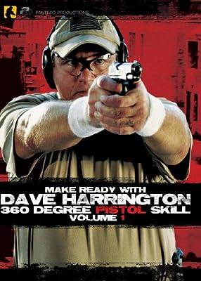 Panteao Productions Make Ready with Dave Harrington 360 Degree Pistol Skill Vol 1 DVD