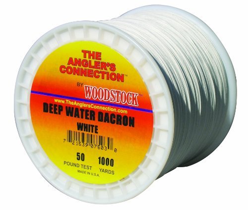 Woodstock deep water dacron fishing line 2500 yards 30 for Dacron fishing line