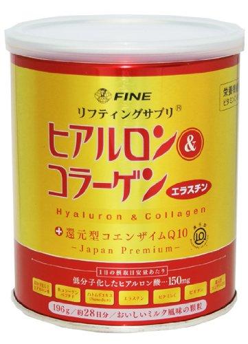 ファイン ヒアルロン&コラーゲン+還元型CoQ10