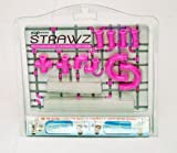 Nuop Design Strawz Connectable Drinking Straws Pink