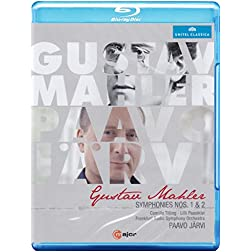 Mahler: Symphonies Nos. 1 & 2 [Blu-ray]