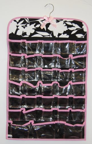 Hanging Closet 66 Pocket Jewelry & Accessory