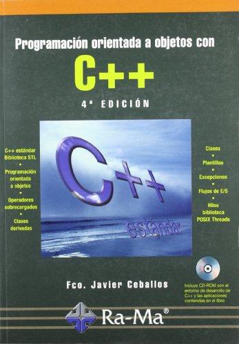 Programación Orientada a Objetos con C++. 4ª Edición