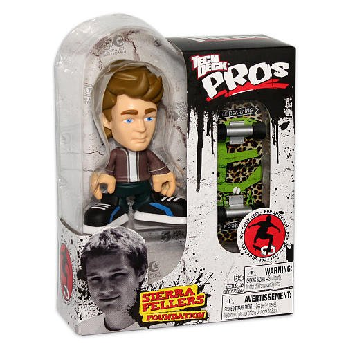 Tech Deck Pro Skater Action Figure with Skateboard Sierra Fellers Foundation