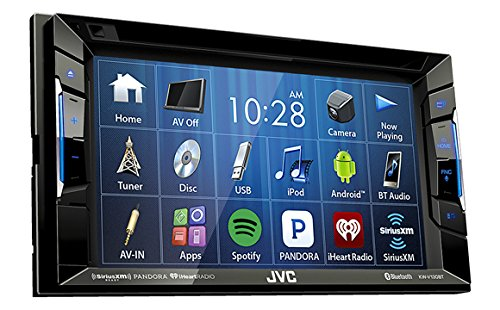 jvc-kw-v130bt-double-din-bluetootha-in-dash-dvd-cd-am-fm-car-stereo-w-62-clear-resistive-touchscreen