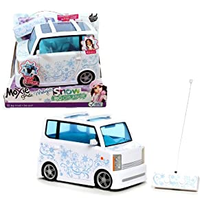 "MGA Entertainment Moxie Girlz ""Be True! Be You"" Magic Snow Series 49 MHz RC Cruiser with Simple Function (Forward and Reverse Turn Only) Radio Control Wireless Remote"