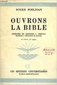 Prélim de L. Cerfaux: Poelman Roger - Cerfaux L.: Amazon.com: Books