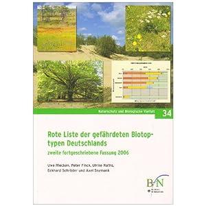 Rote Liste der gefährdeten Biotoptypen Deutschlands. Zweite fortgeschriebene Fassung 2006