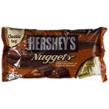 Hershey's Nuggets Milk Chocolate With Toffee & Almonds, 340 Grams
