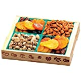 Broadway Basketeers Fruit and Nut Crate Gift Box
