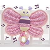 Little Bird Told Me Billowy Butterfly Music and Lights Cot Toy