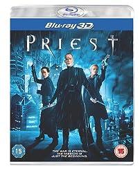Priest Blu-ray 3D [2011][Region Free]