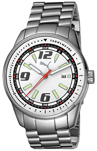 Puma Time Race Luminous 3Hd, Orologio da polso Uomo