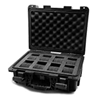 Invicta IG0098-SLC8S-B 8 Slot Black Plastic Watch Box Case by Invicta