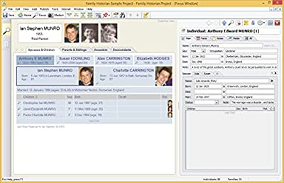 Family Historian 6 Genealogy and Family Tree Software
