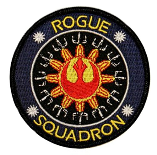 Outlander Gear Star Wars Rogue Squadron Embroidered Iron/Sew-on Applique Patches
