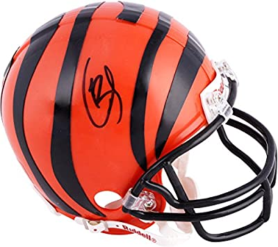 Giovani Bernard Cincinnati Bengals Autographed Riddell Mini Helmet - Fanatics Authentic Certified - Autographed NFL Mini Helmets