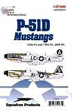 P-51 D Mustang Nose Art: 55, 79 FS