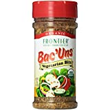 Frontier Vegetarian Bits Bac'uns Certified Organic, 2.47 Ounce Bottle (Pack of 6)