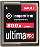 Memzi 64GB 120MB/s - 800x Ultima Pro Compact Flash Memory Card for Canon EOS Series Digital Cameras