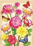 Toland Home Garden 119605 Floral Blast Garden Flag