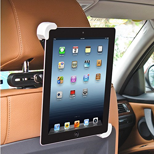 BESTEK Car Headrest Mount Holder Car Tablet Holder for iPad/iPad Air/iPad Mini and other 7-10 inch Tablets, 360 Degree Rotation (Ipad Headrest Holder For Car compare prices)