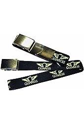Guinness Black Canvas Belt