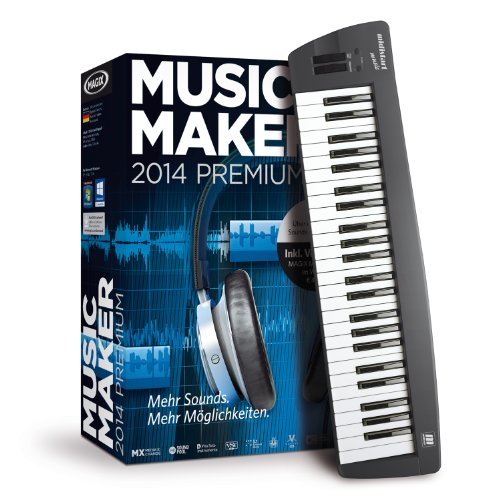 magix music maker 2014 control. Black Bedroom Furniture Sets. Home Design Ideas