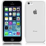 SDTEK iPhone 5c Coque Housse Silicone Etui Case Cover Transparent Crystal Clair Soft Gel TPU