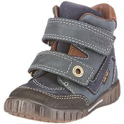 ecco Infant/Toddler Shadow Boot,Black/Marine,20 EU (5 M US Toddler)