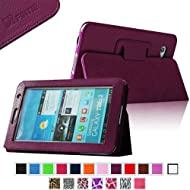 Fintie Slim Fit Folio Case Cover For Samsung Galaxy Tab 7.0 Plus / Samsung Galaxy Tab 2 7.0 Tablet - Purple