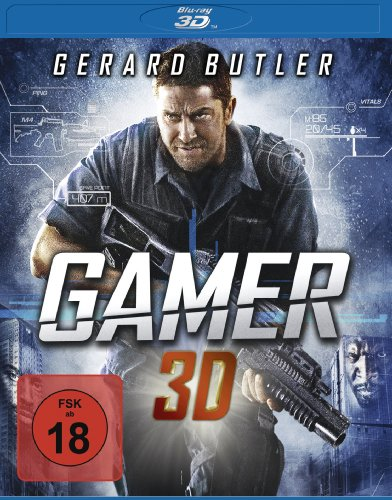 Gamer - Uncut  (inkl. 2D-Version) [3D Blu-ray]
