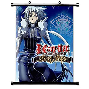 """D. Gray-Man Anime Fabric Wall Scroll Poster (16"""" X 23"""") Inches"""