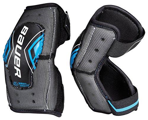 Bauer-Senior-Street-Hockey-Elbow-Pads-Pair-11-Inch-Black