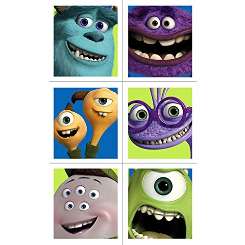 Monsters University Stickers (4 Sheets)