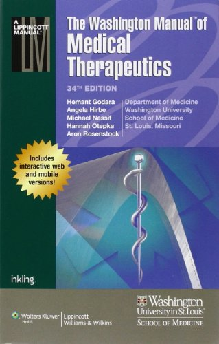 washington manual of medical therapeutics 35th edition free download