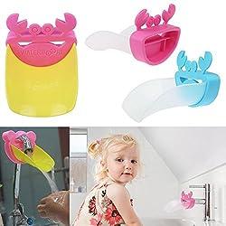 Aeoss Kid Toddler Children Water Tap Faucet Extender toy Washing Hands Bathroom Sink Gift
