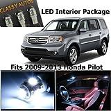 Honda PILOT White Interior LED Package (11 Pieces)