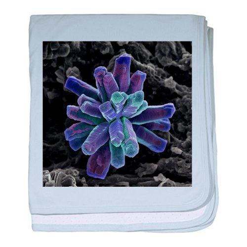 Cafepress Calcium Phosphate Crystal, Sem - Baby Blanket Baby Blanket - Standard