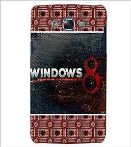 PrintDhaba Windows Logo D-5683 Back Case Cover for SAMSUNG GALAXY J5 (Multi-Coloured)