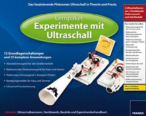Lernpaket FRANZIS ''Experimente mit Ultraschall''