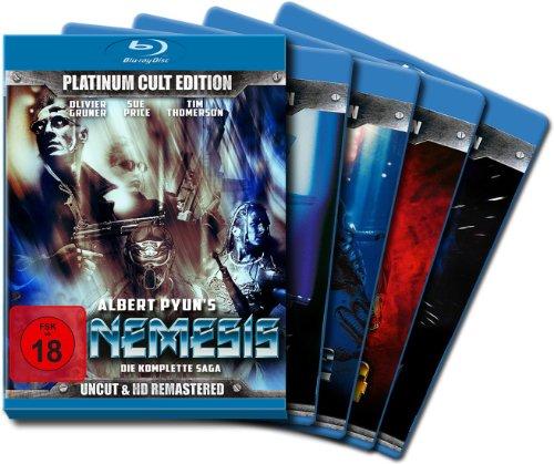 Nemesis (Complete Saga 1-4) - 7-Disc Box Set ( Nemesis / Nemesis 2: Nebula / Nemesis 3: Time Lapse / Nemesis 4: Death Angel ) ( Nemesis / Nemesis Two / Nemesis [ Blu-Ray, Reg.A/B/C Import - Germany ]
