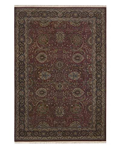 One of a Kind Rug, Red, 6′ x 9′