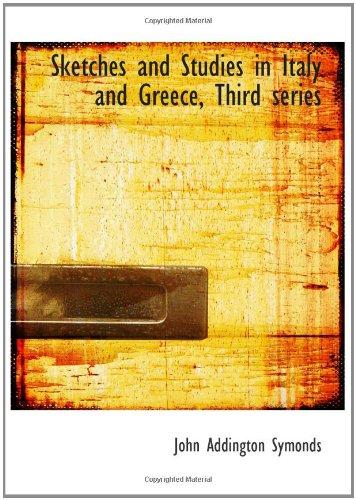 Bocetos y estudios en Italia y Grecia, tercera serie