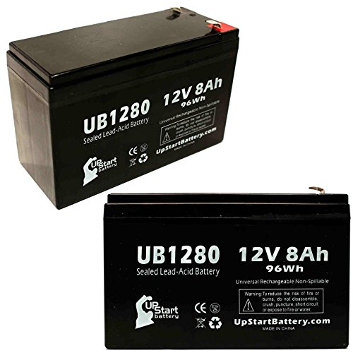 2x-pack-replacement-kelvinator-scientific-audio-alarm-battery-replacement-ub1280-universal-sealed-le