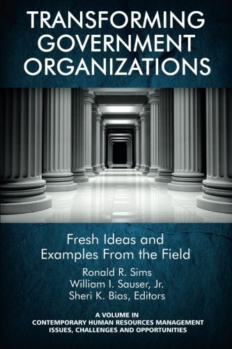 Transforming Government Organizations: Fresh Ideas and Examples from the Field (Contemporary Human Resource Management I