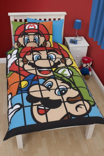 nintendo-super-mario-funda-nordica-retro-solo-panel-y-la-funda-de-almohada-set
