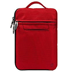 SumacLife Red Premium Protective Nylon Sleeve Carrying Case with Handle