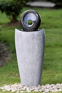 brunnen springbrunnen aussen innen 90cm foglobo 10207. Black Bedroom Furniture Sets. Home Design Ideas