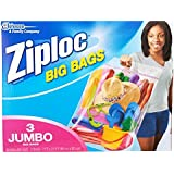 Ziploc Big Bag Double Zipper, XX-Large, 18-Count (jvf8e9)